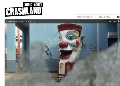Web Crashland World Tour 2012